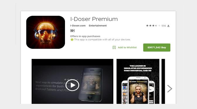 I-Doser (Google Play Store)