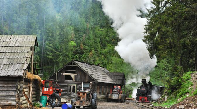 Vaser Valley Railway. | via: farrail.net