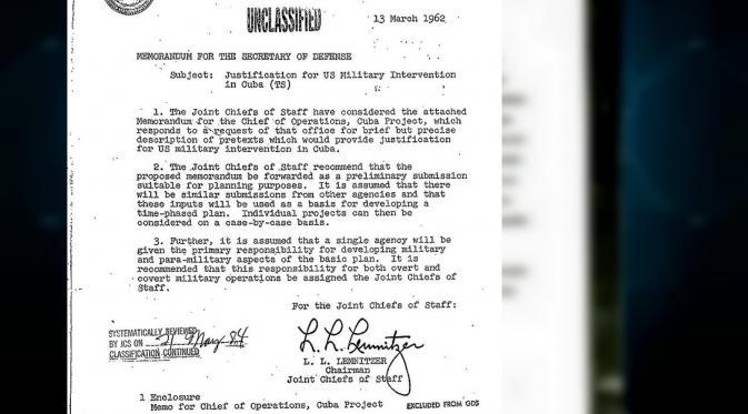 Dokumen Operation Northwoods (Wikipedia)