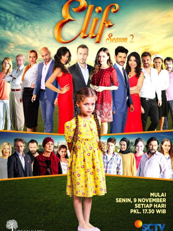 Rating Elif Season 2 Ancam Sinetron Nomor 1 di TV Tetangga