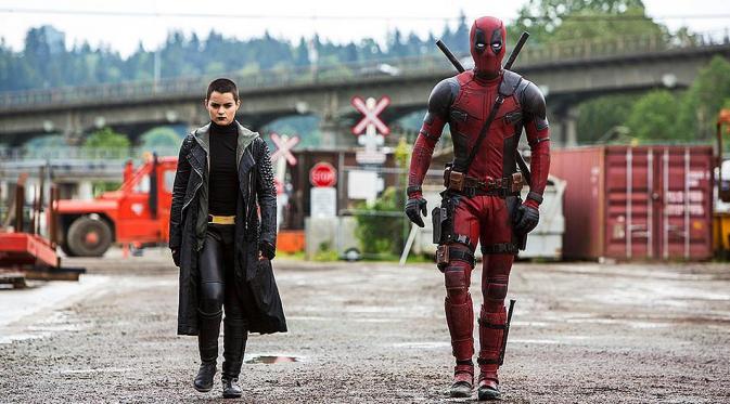 Deadpool dan Negasonic Teenage Warhead. (movieweb.com)
