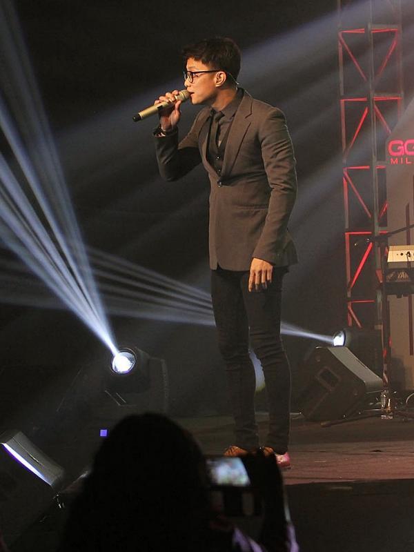 Yovie n Nuno konser di The Sunan Hotel Solo, Kamis malam (31/12/2015) (Liputan6.com/Reza Kuncoro)