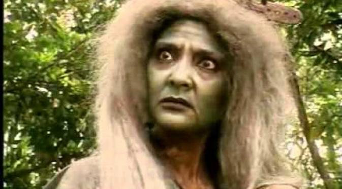 Mak Lampir di sinetron Misteri Gunung Merapi. Foto: Youtube
