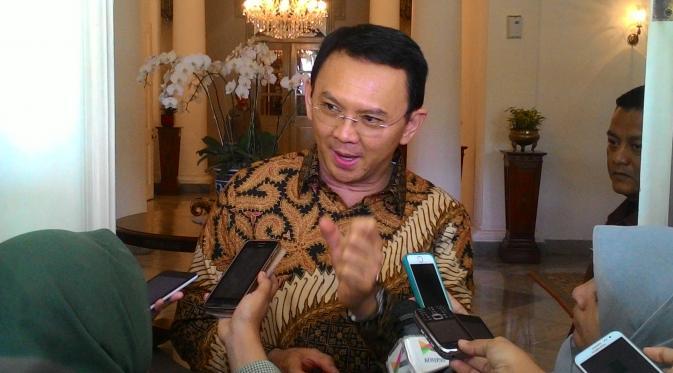Gubernur DKI Jakarta, Basuki Tjahaja Purnama. (Liputan6.com/Ahmad Romadoni)