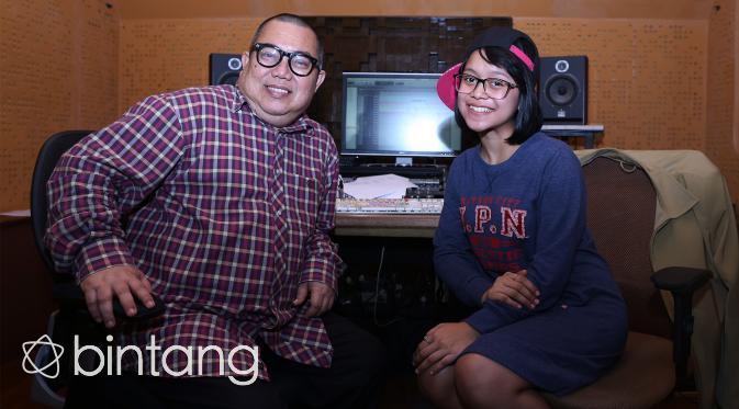 Lesti dan Pak Ngah (Andy Masela/Bintang.com)