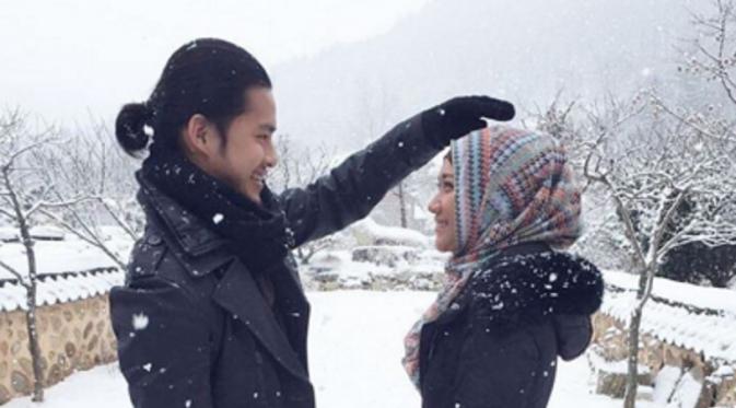 Bunga Citra Lestari (BCL) dan Morgan Oey di film Hijab Traveler. Foto: Instagram