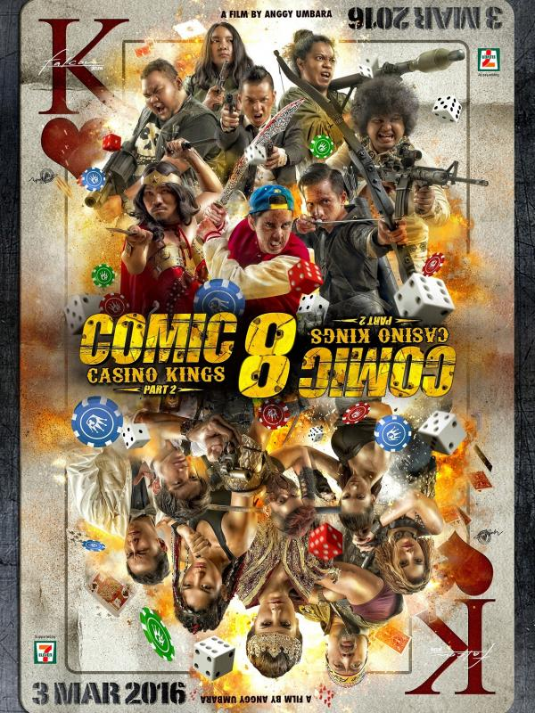 Comic8: Casino Kings Part 2  (Falcon Pictures)