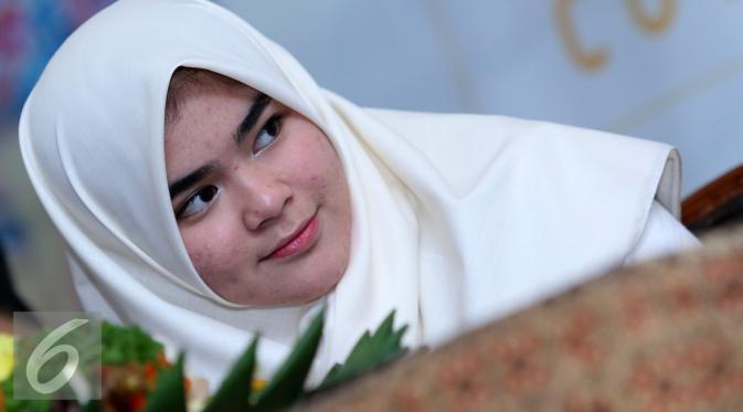 Sivia Azizah alias Sivia Blink [Foto: Herman Zakharia/Liputan6.com]