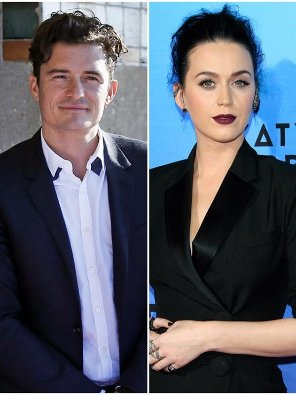 Orlando Bloom dan Katy Perry (Bintang/EPA)