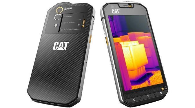 Cat S60, smartphone pertama yang menggunakan kamera termal (sumber: gizmodo.com)