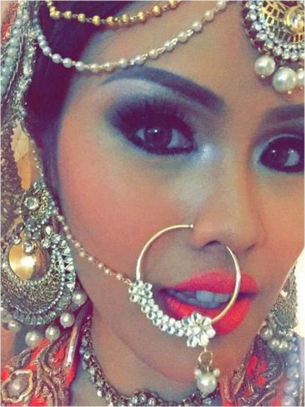 Nita Sofiani di hari pernikahan dengan Vin Rana (via Instagram/nitasofiani)