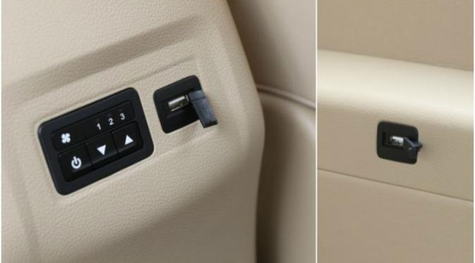 Interior Wuling 730 fungsional
