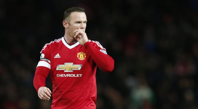 Kapten Manchester United (MU) Wayne Rooney. (Liputan6.com/Reuters / Phil Noble Livepic)