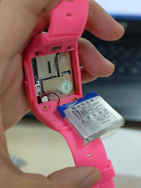uWatch GPS Tracker (Liputan6.com/Iskandar)