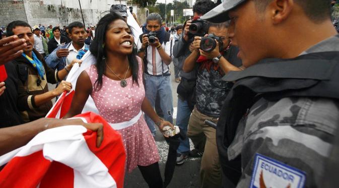 Ekuador ,2010. (Via: huffingtonpost.com)