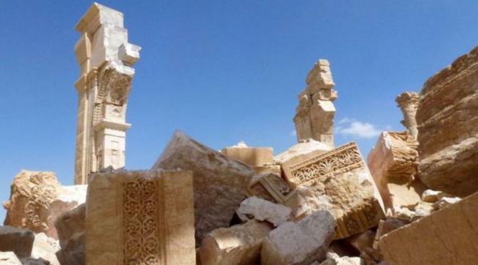 Monumen Arch of Triumph di Palmyra. (AFP)