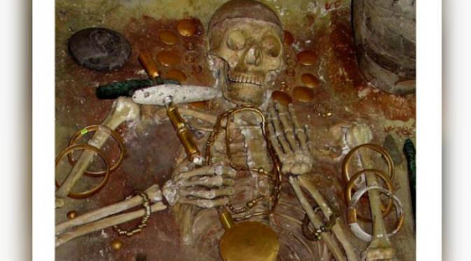 Peninggalan masyarakat Varna (Ancient Origins).