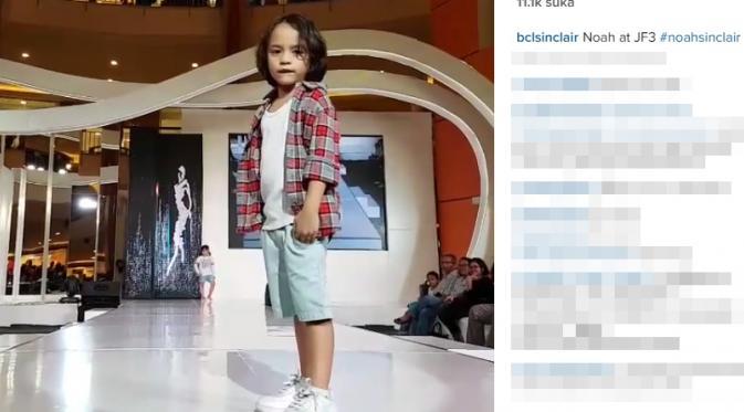 Noah, putra Bunga Citra Lestari dan Ashraf Sinclair (Instagram)