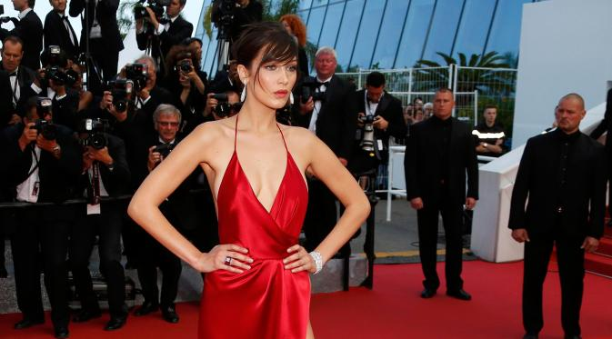 Bella Hadid (REUTERS / Yves Herman)