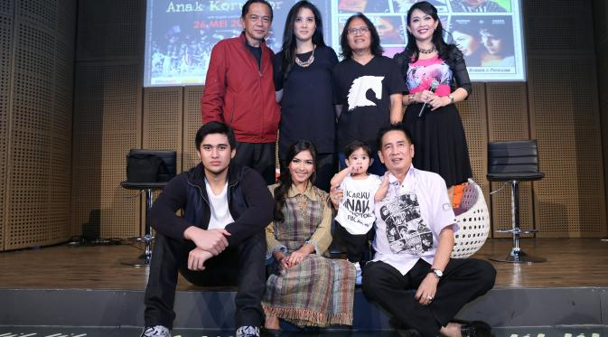 Preskon film Pacarku Anak Koruptor (Andy Masela/bintang.com)