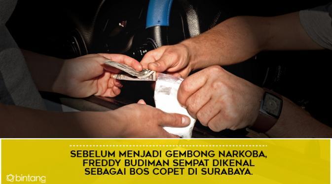 Selalu Lolos dari Hukuman Mati, Ini 6 Fakta Heboh Freddy Budiman. (Design by Muhammad Iqbal Nurfajri/Bintang.com)