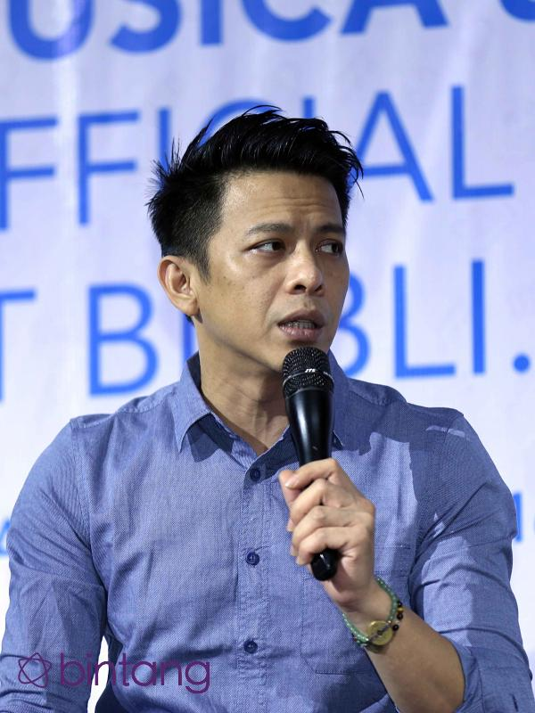 Ariel NOAH bicara tentang musik online (Nurwahyunan/Bintang.com)