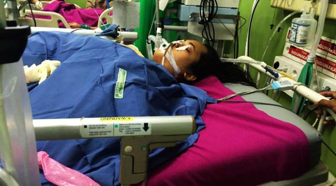 Resky Eviana Syamsul, mahasiswi FK UMI Makassar yang meninggal dunia usai mengikuti latihan tanggap bencana medis. (Liputan6.com/Eka Hakim)