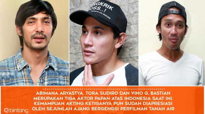 Fakta Make Over Warkop DKI Reborn. (Foto: Bintang Pictures, Desain: Muhammad Iqbal Nurfajri)