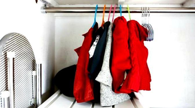Baju yang dipakai, sehari hanya satu baju saja
