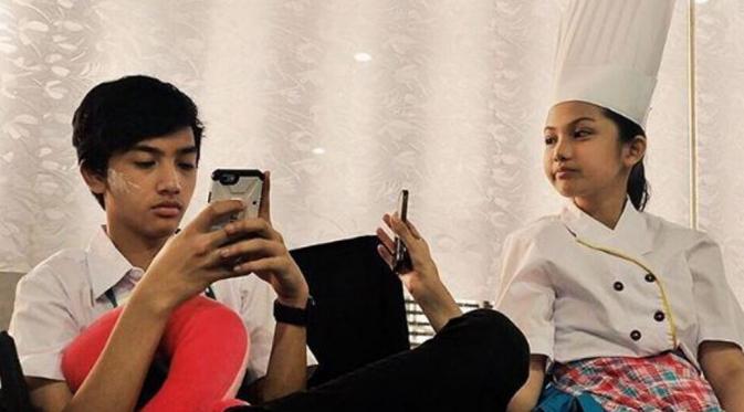 Ari Irham dan Aisyah Aqilah (instagram)