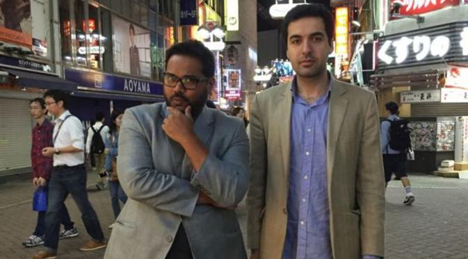 Mitra dan Omar (Ambarish Mitra/BBC)
