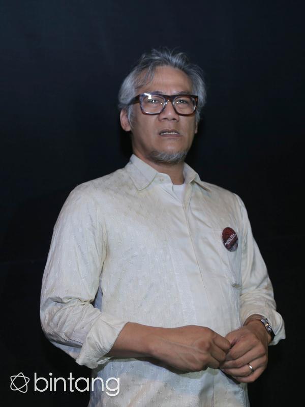Meski bangga, bagi pemilik nama lengkap Irwan SuseTio Pakusadewo itu, merupakan film terberatnya. Apalagi ia harus menghafal seluruh teks pidato Bung Karno. (Andy Masela/Bintang.com)