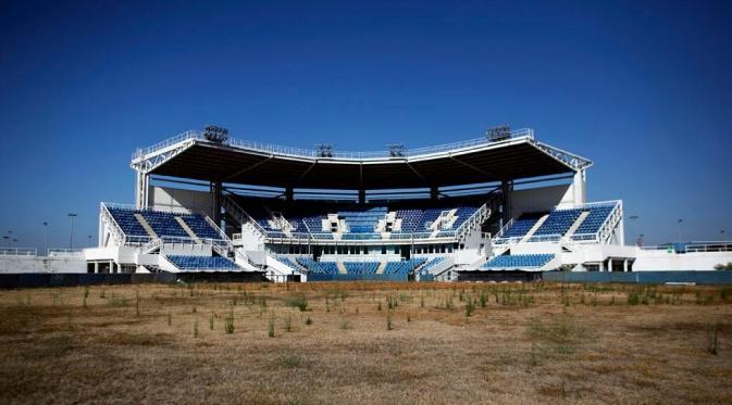 Stadion Terbengkalai Bekas Olimpiade Yunani (Weather.com)