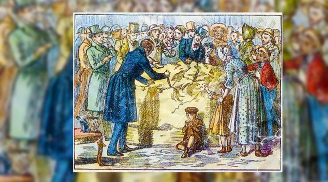 Ilustrasi Keju Presiden Andrew Jackson (Public Library)