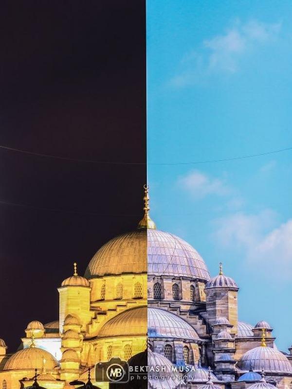 New Mosque – Yeni Cami. (Via: boredpanda.com)