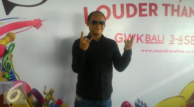 Novrial Rustam, Managing Director Kilau Indonesia, penyelenggara Soundrenaline. (Ferry Noviandi/Liputan6.com)