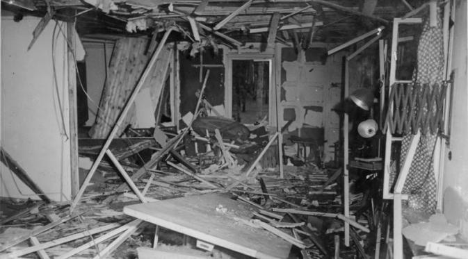Plot pembunuhan HItler yang gagal pada 1944 (Wikipedia/Bundesarchiv)