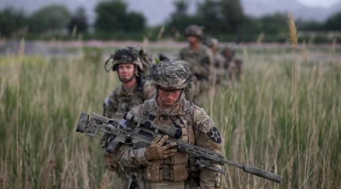 Ilustrasi militer Amerika Serikat (Reuters)