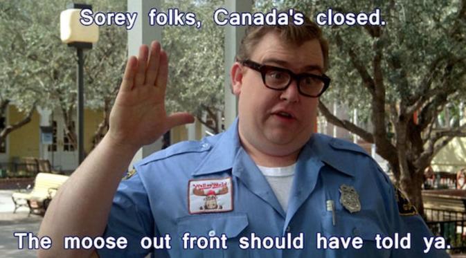 Meme kocak warga pindah ke Kanada setelah Donald Trump jadi Presiden AS. (Tomorrow in Canada)
