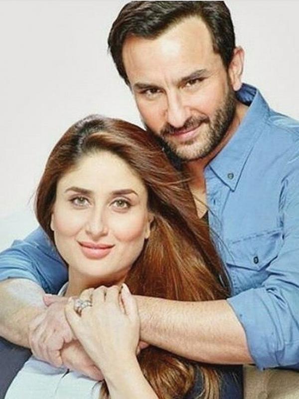 Kareena Kapoor dan Saif Ali Khan tengah menanti kelahiran anak pertama. (Instagram/kareenabebo)