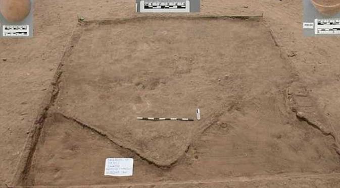 Benda-benda yang ditemukan di penggalian di Mesir. (Al-Masry Al-Youm)