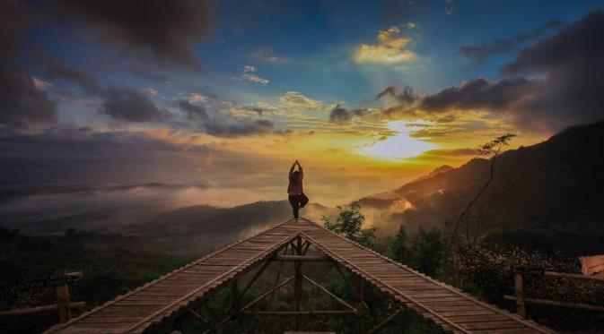 Punthuk Mongkrong, Magelang, Jawa Tengah. (abibagas21/Instagram)
