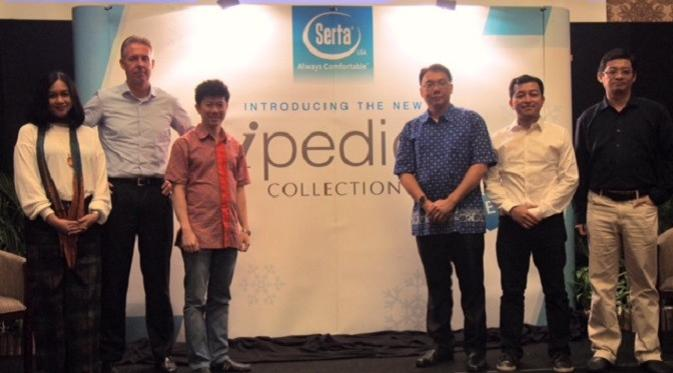 Peluncuran iPedic Collection oleh Serta USA pada 6 Januari 2017