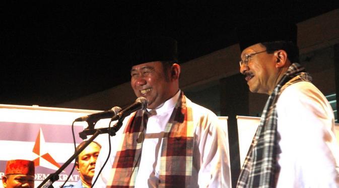 Fauzi Bowo dan Nachrowi Ramli. (Demokrat.or.id)