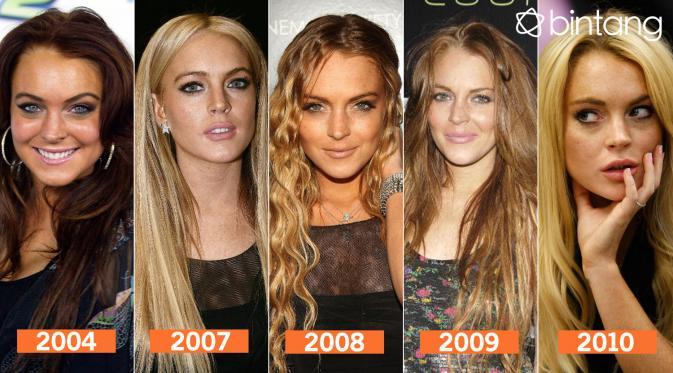 Metamorfosa Lindsay Lohan 2 (Desain: Nurman Abdul Hakim/Bintang.com)
