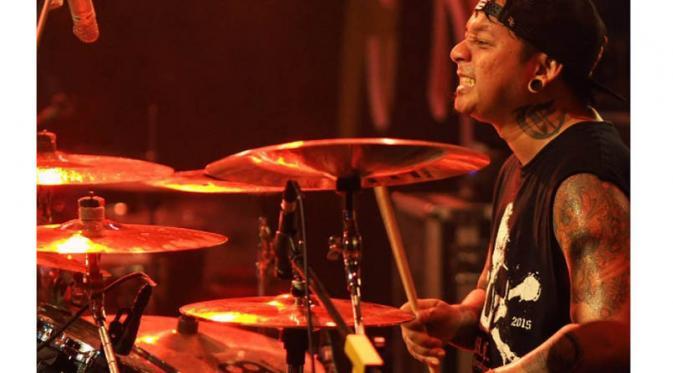 Drumer Deadsquad Andyan Gorust. (Instagram)