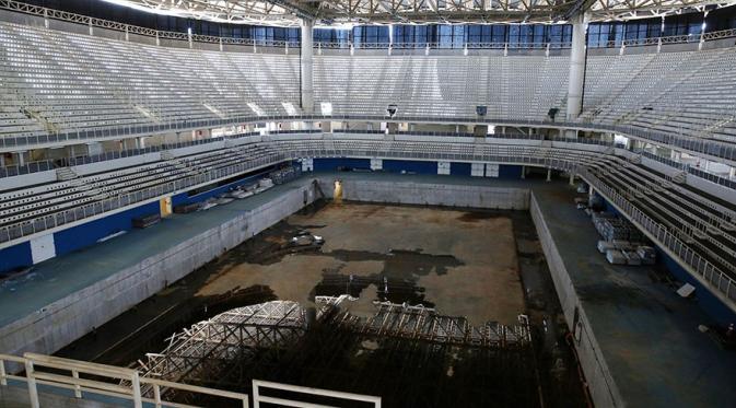 Venue Olimpiade Rio 2016 kini. (Via: boredpanda.com)
