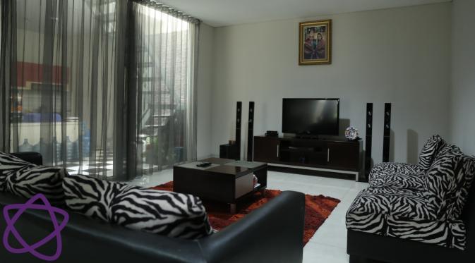 Rumah Posan Tobing. (Galih W. Satria/Bintang.com)
