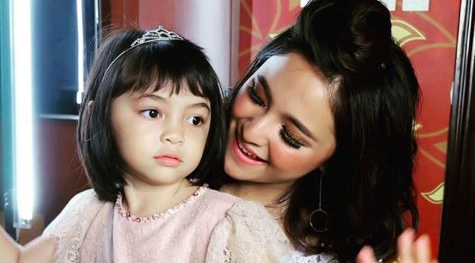 Marshanda dan putrinya, Sienna.