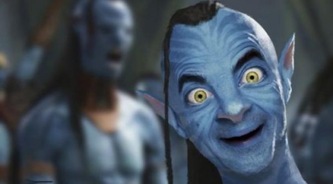 Meme Mr Bean di-Photoshop. (Via: boredpanda.com)